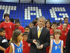 410 jugadores integran en el proyecto del Club Basket Cartagena 2010-2011