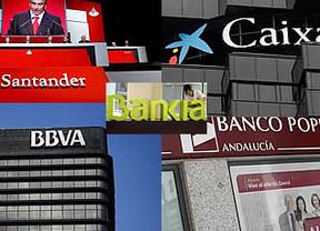 La 'troika' da un tirón de orejas a la banca: expresa su