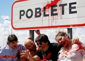 Poblete doblará su población en octubre a base de zombies