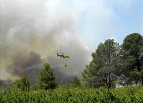 Aún sigue vivo el fuego en Hellín