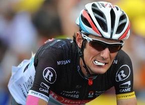 El ciclista Frank Schleck, fuera del Tour por dar positivo en un control antidopaje