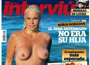 Leticia Sabater se desnuda en 'Interviú' para buscar novio