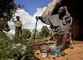 Un médico brujo africano predice triunfo de Obama