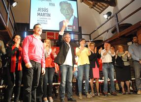 Jesús Martín (PSOE) vuelve a presentarse a la Alcaldía de Valdepeñas arropado por Bono