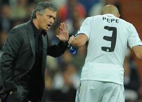 Mou contraataca a Pepe: