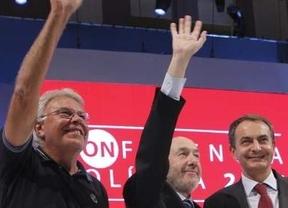 El desplome personal de Zapatero hunde al candidato Rubalcaba