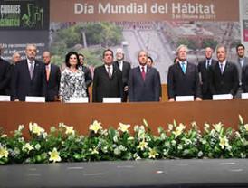 El presidente FCH realizó un llamado a todo el mundo, a fin de crear y transformar ciudades humanas y dignas