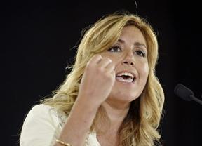 Susana Díaz reclama a Rajoy que abra ya el diálogo, tras el