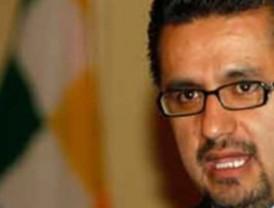 Sacha Llorenti renuncia a su cargo de Ministro de Gobierno