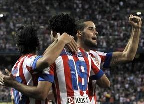 El Atletico gana al Rayo 4-3 con susto incluido