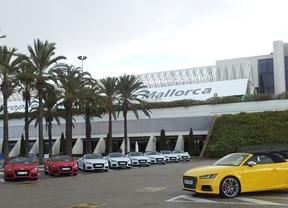 El aeropuerto de Palma de Mallorca acoge la presentación mundial del nuevo modelo de Audi
