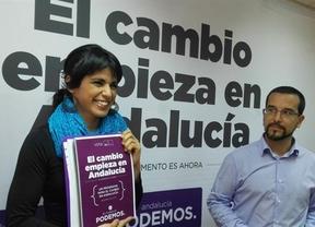 La 'avanzadilla' de Podemos en Andalucía incluye un plan antidesahucios, el fin de los recortes y... unos referéndums revocatorios