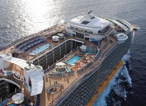 El turismo de cruceros sube como la espuma en España