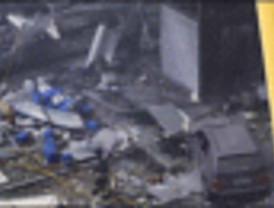 Sigue la búsqueda de los desparecidos tras el atentado de ETA