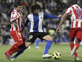 Hércules vence sin problemas 4-1 al Atlético de Madrid