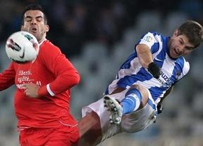 La vida sigue igual para el Sevilla: debú de Michel y nueva derrota ante la Real  en Anoeta (2-0)