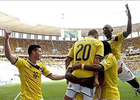 Colombia se impone a Costa de Marfil y acaricia los octavos (2-1)
