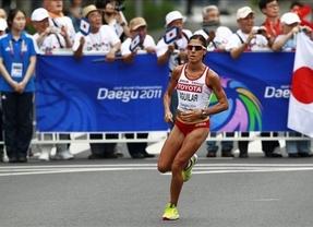 Aguilar hace historia en una Maratón ganada por Edna Kiplagat