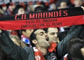 Los leones del Athletic despiertan del sueño copero al Mirandés (1-2)... pero queda la vuelta