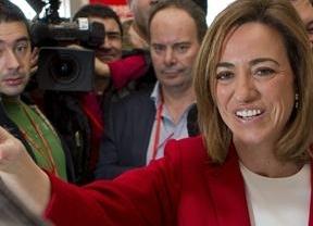 Finalmente será Chacón la única 'protocandidata' a primarias que no hará campaña con Valenciano