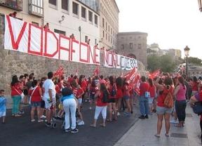 Multitudinaria manifestación en apoyo a los trabajadores de Teletech