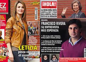 Corinna, Letizia y la Reina, protagonistas de la prensa del corazón