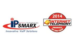 IPsmarx recibe Premio de Internet Telephony al Producto del Año 2014
