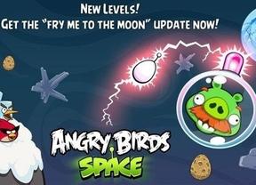 'Angry Brids Space' se actualiza para ofrecer nuevos niveles