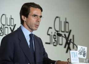 Aznar pide a Rajoy un 'reformismo de alta intensidad'