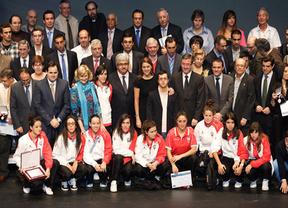 Cospedal aprovecha la Gala del Deporte para lanzar su alegato sobre la unidad de España