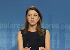 Cospedal niega la comisión de 200.000 euros al PP manchego que le atribuye Bárcenas