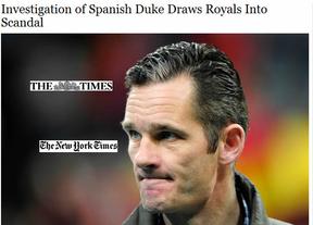 Se calienta el 23-F de Urdangarín: el escándalo sigue en la prensa extranjera, como 'New York Times' o 'The Times'