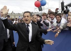 El conservador Nicolas Sarkozy
