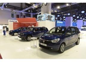 Dacia en el  Salón de Barcelona 2015: 10 años de éxitos en España