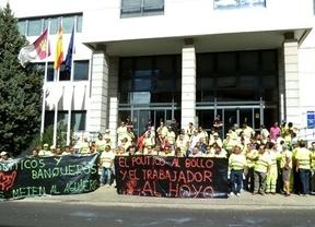 Protestas de los trabajadores de carreteras por los cambios en sus condiciones laborales