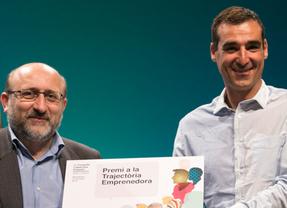 Miguel Vicente, premio a la Trayectoria Emprendedora en el 1er Congrés Catalunya Emprèn