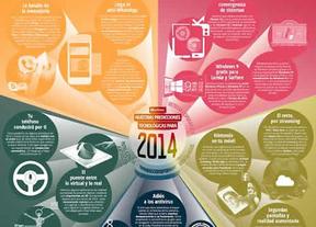 La tecnología que traerá el 2014: novedades en videojuegos, 'apps' de mensajería, impresión en 3D...