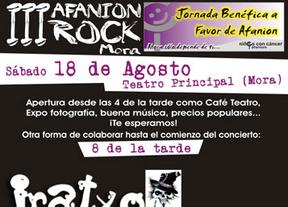 Mora (Toledo) acoge el III Afanion Rock, jornada benéfica contra el cáncer infantil