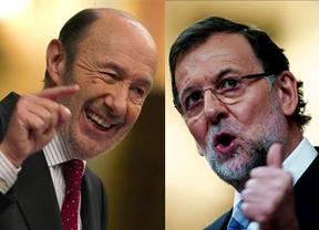 La en�sima batalla de las encuestas dominicales deja un empate PP-PSOE con IU y UPyD en leve retroceso
