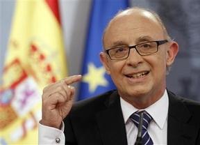 En medio de la 'tormenta', Montoro afirma que España cumple el objetivo de déficit para 2012
