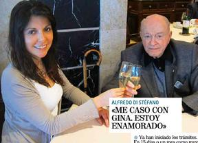Di Stéfano se casará con una costarricense 50 años menor que él