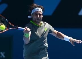 Abierto de Australia: David Ferrer cumple y debuta con una cómoda victoria ante González