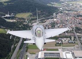 Muere el piloto de un 'Eurofighter' al estrellarse justo después del Día de las Fuerzas Armadas