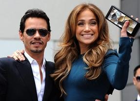 Jennifer Lopez llora en medio de un concierto al recordar a Marc Anthony