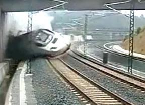 El vídeo del descarrilamiento: así tuvo lugar el accidente del tren Alvia en Santiago
