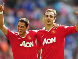 M United gana de ultimo minuto al Bolton con Hernández como titular
