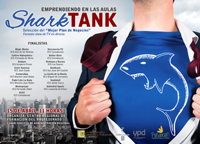Shark Tank premiará los proyectos de los alumnos más emprendedores de Castilla-La Mancha