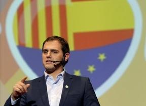 Albert Rivera, crecido, exige a Artur Mas que dimita o presentará una moción de censura