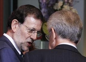 La alianza de Monti y Rajoy, reflejada en la prensa nacional, con presión a Merkel incluída