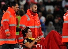 Se confirma el peor escenario 'atlético': Tiago estará de baja un mes tras su grave lesión en Almería